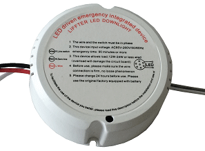 Emergency LED Driver (Round)