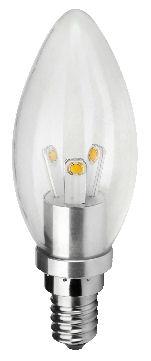 E14 LED chandelier candle bulb