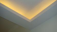 Cove warm lighting