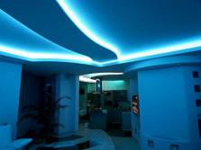 cove lighting blue
