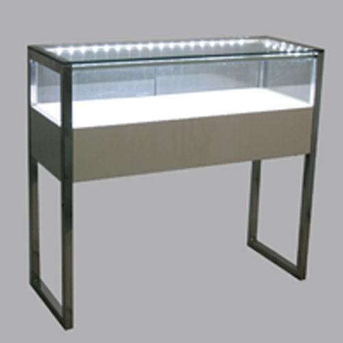 showcase LED strip white lighting